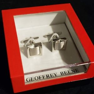 Geoffrey Beene Cufflinks w/ Box